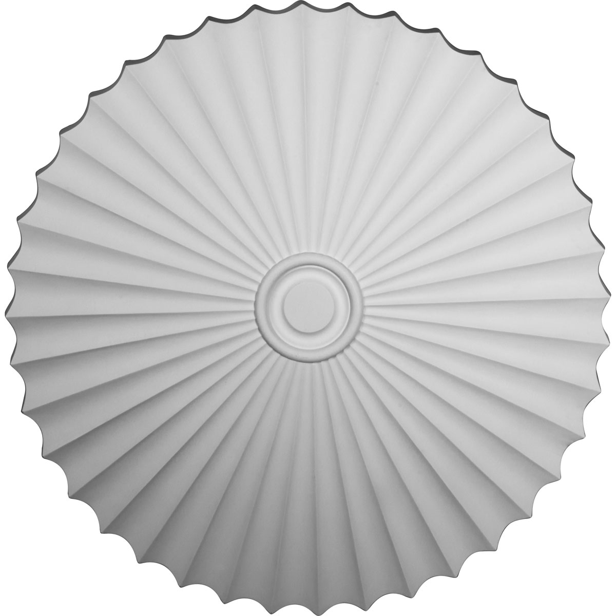 """47 5/8""""OD x 2""""P Shakuras Ceiling Medallion (For Canopies up to 6 1/2"""")"""