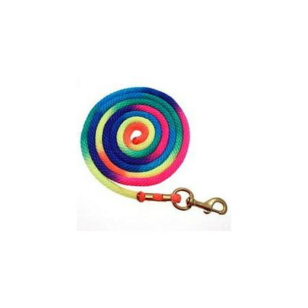 - Basic Rainbow Poly Lead Rope with Bolt Snap