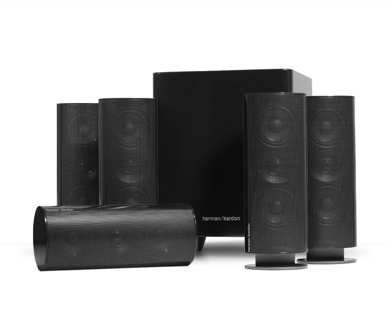 Harman Kardon HKTS 30BQ 5.1 Home Theater Speaker System (Black) by Harman Kardon