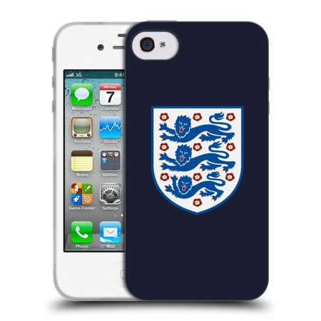 OFFICIAL ENGLAND FOOTBALL TEAM 2018 CREST SOFT GEL CASE FOR APPLE IPHONE PHONES