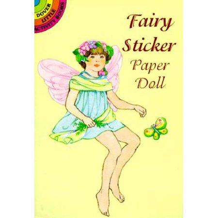 Garden Fairy Sticker Paper (Fairy Sticker Paper Doll)