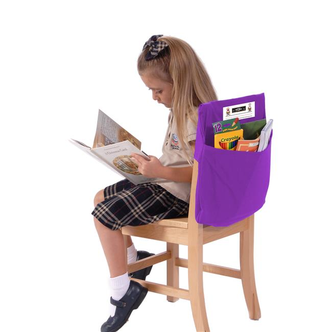 Seat Sack 50115 Medium Square 15 in. Seat Sack Purple - Pack of 2