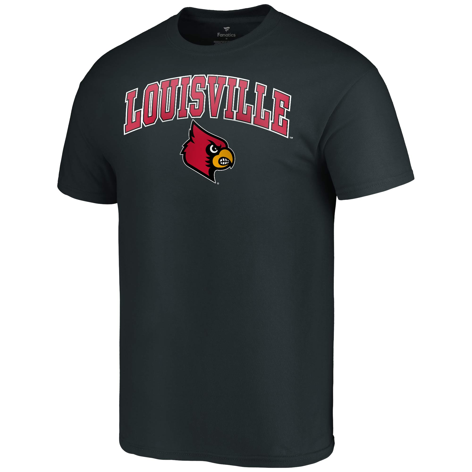 new arrival bfb5f 7e451 Louisville Cardinals Fanatics Branded Campus T-Shirt - Black - Walmart.com