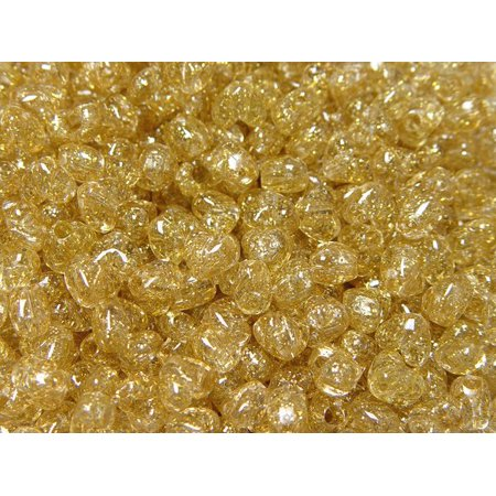JOLLY STORE Crafts Gold Sparkle Heart Shaped Pony Beads, Made in - Gold Heart Brads
