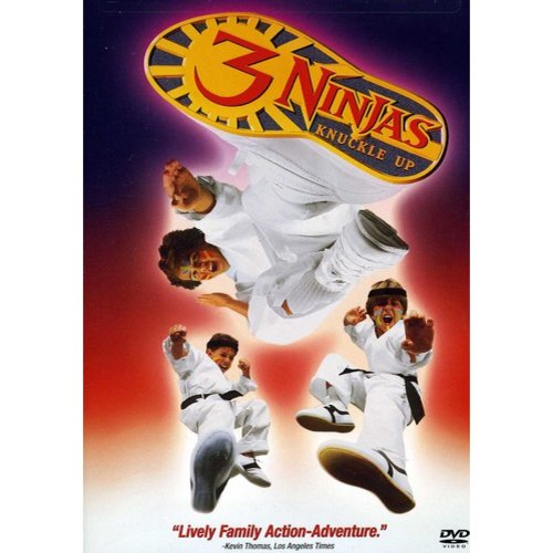 3 NINJAS KNUCKLE UP by SONY CORP