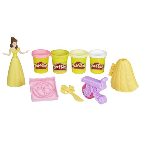 Play-Doh Be Our Guest Banquet Featuring Disney Princess BelleFeatures fun ways to play with Mrs. Potts, Chip, and Lumière By PlayDoh
