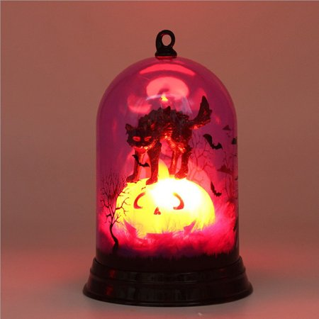 Tuscom 1 pcs Halloween Candle with LED Tea light Candles for Halloween Decoration part - Partylite Halloween Tealights
