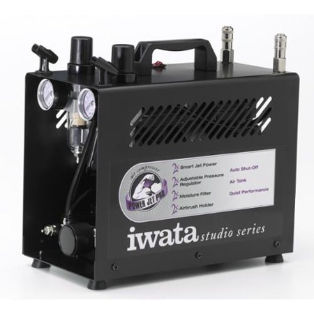Jet Compressor (Iwata-Medea Studio Series Power Jet Pro Double Piston Air Compressor )