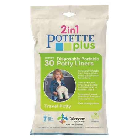 POTETTE PLUS LINERS VALUE PACK - 30 Liners (Potette Plus 30 Pack Value Pack Liners)