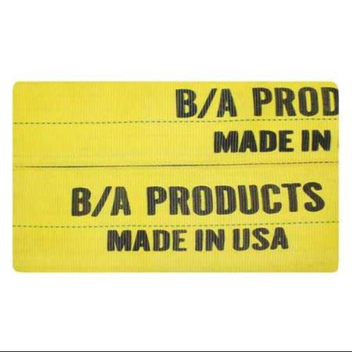 B/A PRODUCTS CO. 9-8-PAD Wear Pad, Yellow, Sling W 8 In