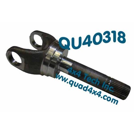 QU40318 99-05 Outer Axle Shaft for Ford Dana 50/Dana 60 4x4 Front