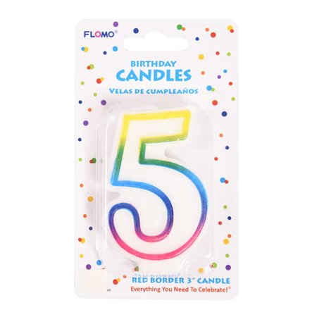 Number Candles (FLOMO 3