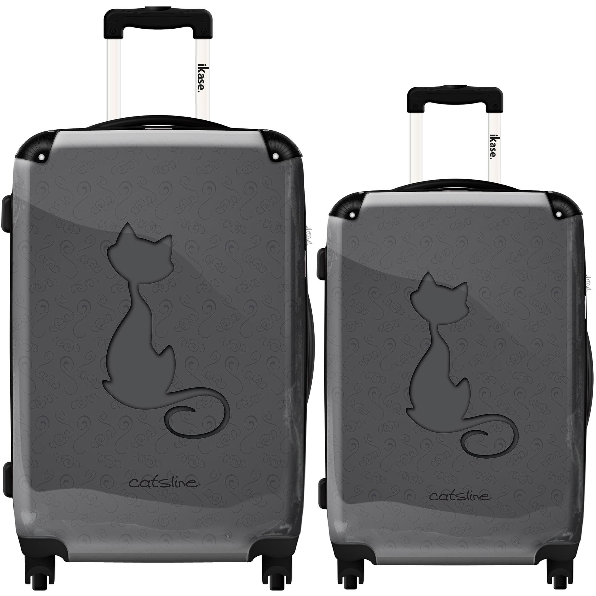 Ikase Hardside Spinner Luggage Cat