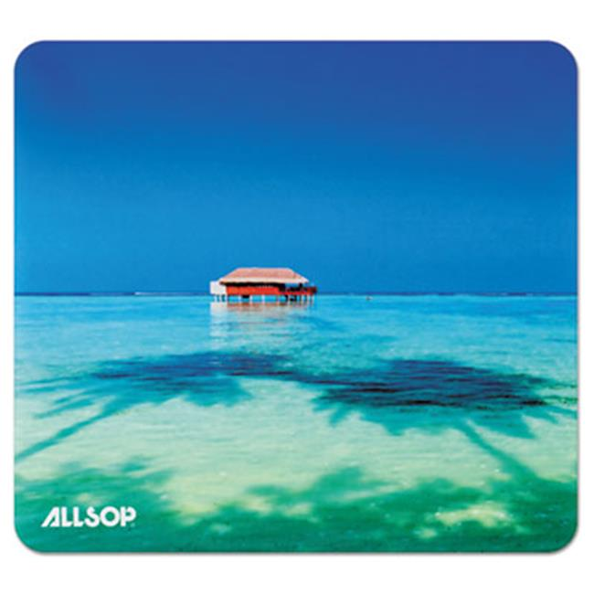 Allsop 31625 0.1 x 8.5 x 8 in. Naturesmart Mouse Pad, Tropical Maldive by Allsop