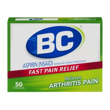 Bc Aspirin Pain Reliever Powders Arthritis Pain   50 Ct