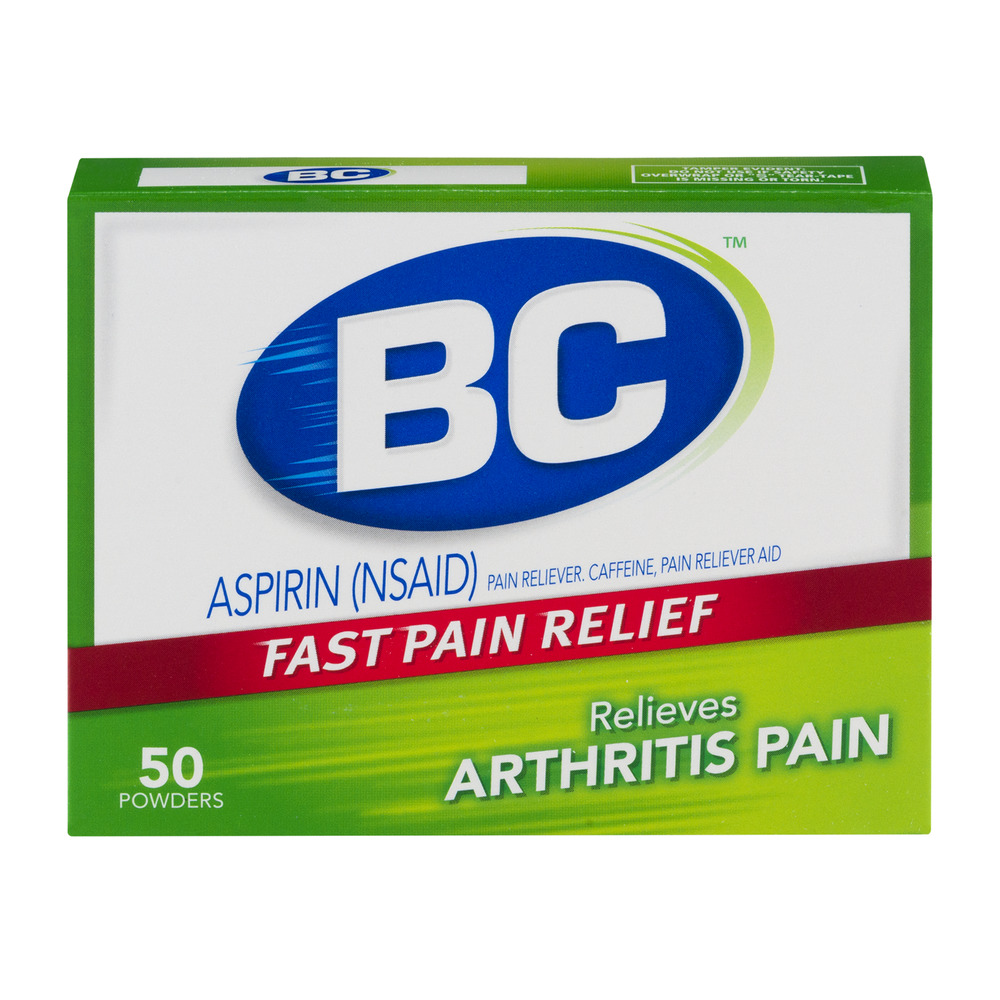 BC Aspirin Pain Reliever Powders Arthritis Pain - 50 CT