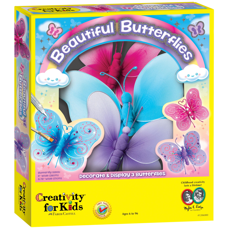 Kids Beautiful Erflies Craft Kit