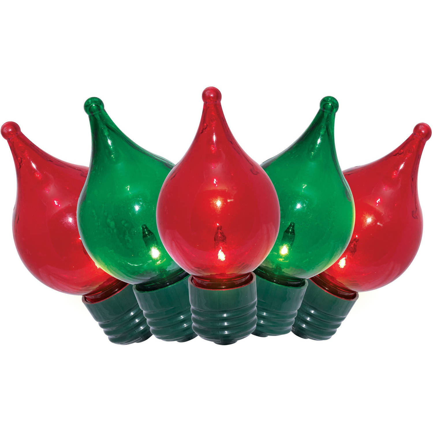 PET G50 with Tips Red/Green Lights, 20-Count