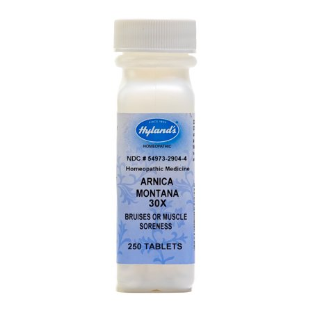 Hyland's Arnica Montana 30X Tablets, Natural Homeopathic Relief of Bruises & Muscle Soreness, 250 Count ()