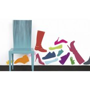 Smart Deco 14 Piece Sciuscia Wall Decal