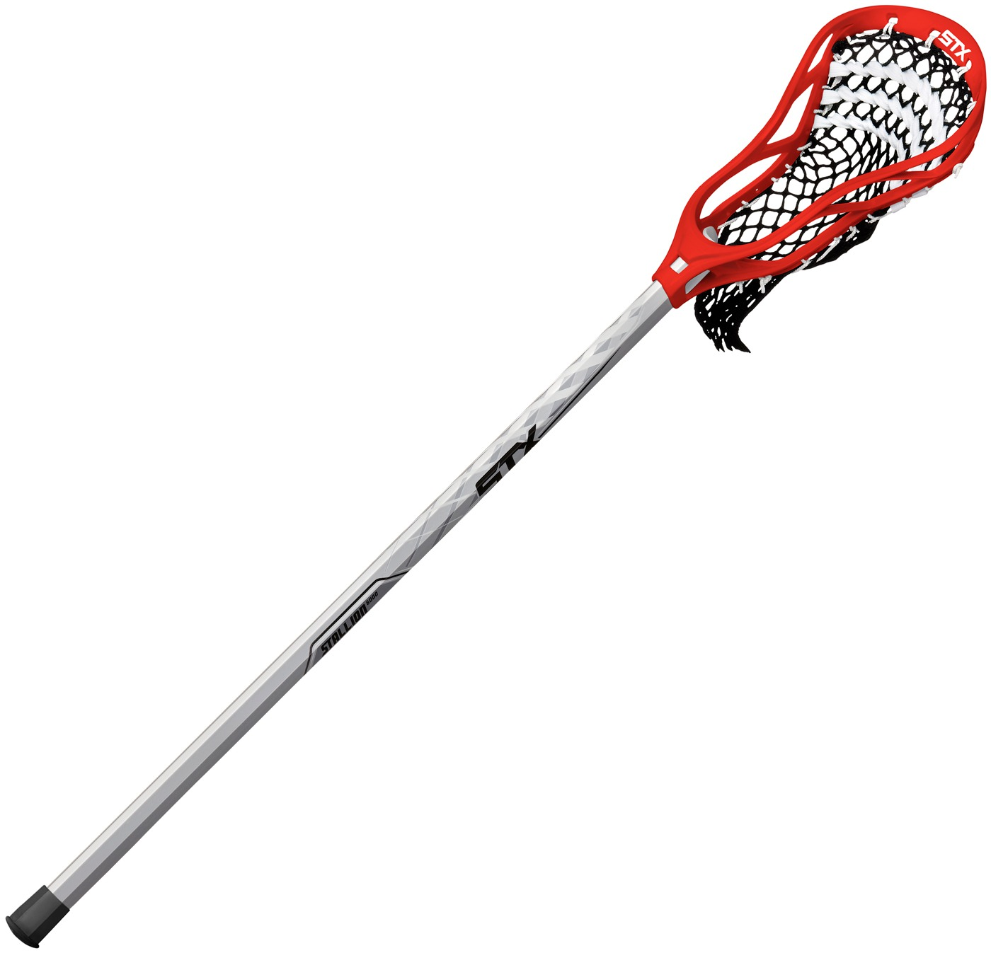 STX Stallion 200 Men's Complete Attack Lacrosse Stick with Stallion 6000 Shaft by