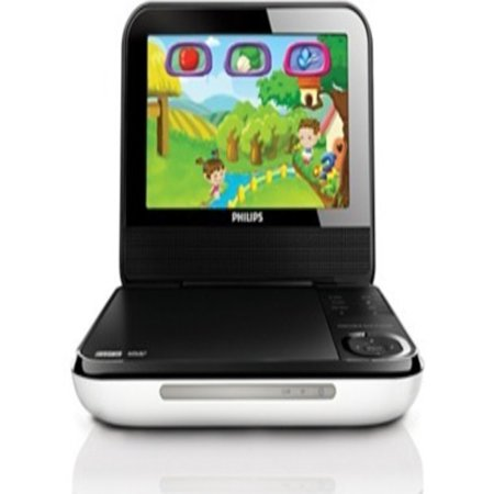 Philips 7″ Portable DVD Player with Games REFURBISHED