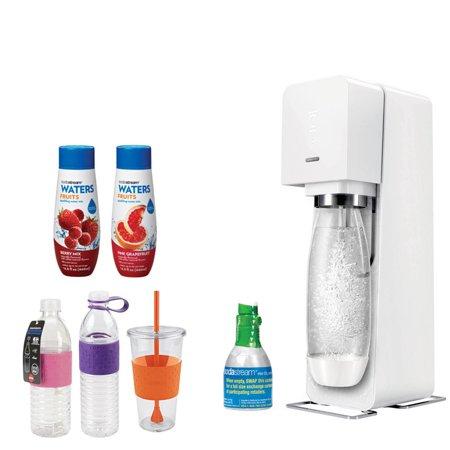 Sodastream Source Home Soda Maker Starter Kit White