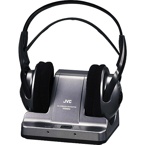 JVC HAW600RF 900MHz Wireless Stereo Headphones with Location Feature