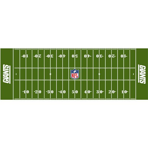 "NFL New York Giants 24"" x 72"" Runner"