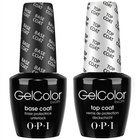 OPI Nail GelColor Gel Color Base Coat + Top Coat .5oz/15mL * 2 Bottles * - image 1 de 1