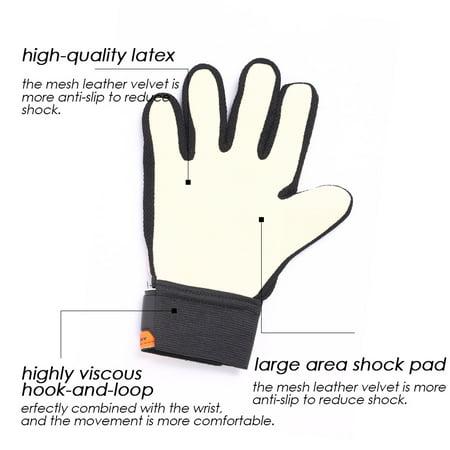 LeKing No. 6 Soccer Goalkeeper Gloves for Children - image 3 of 9