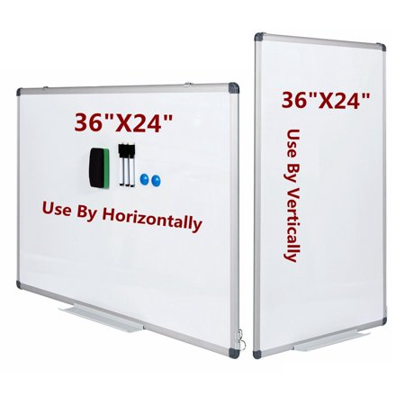 Vertical Compatible Dry Erase Board Magnetic Markers Whiteboard 36