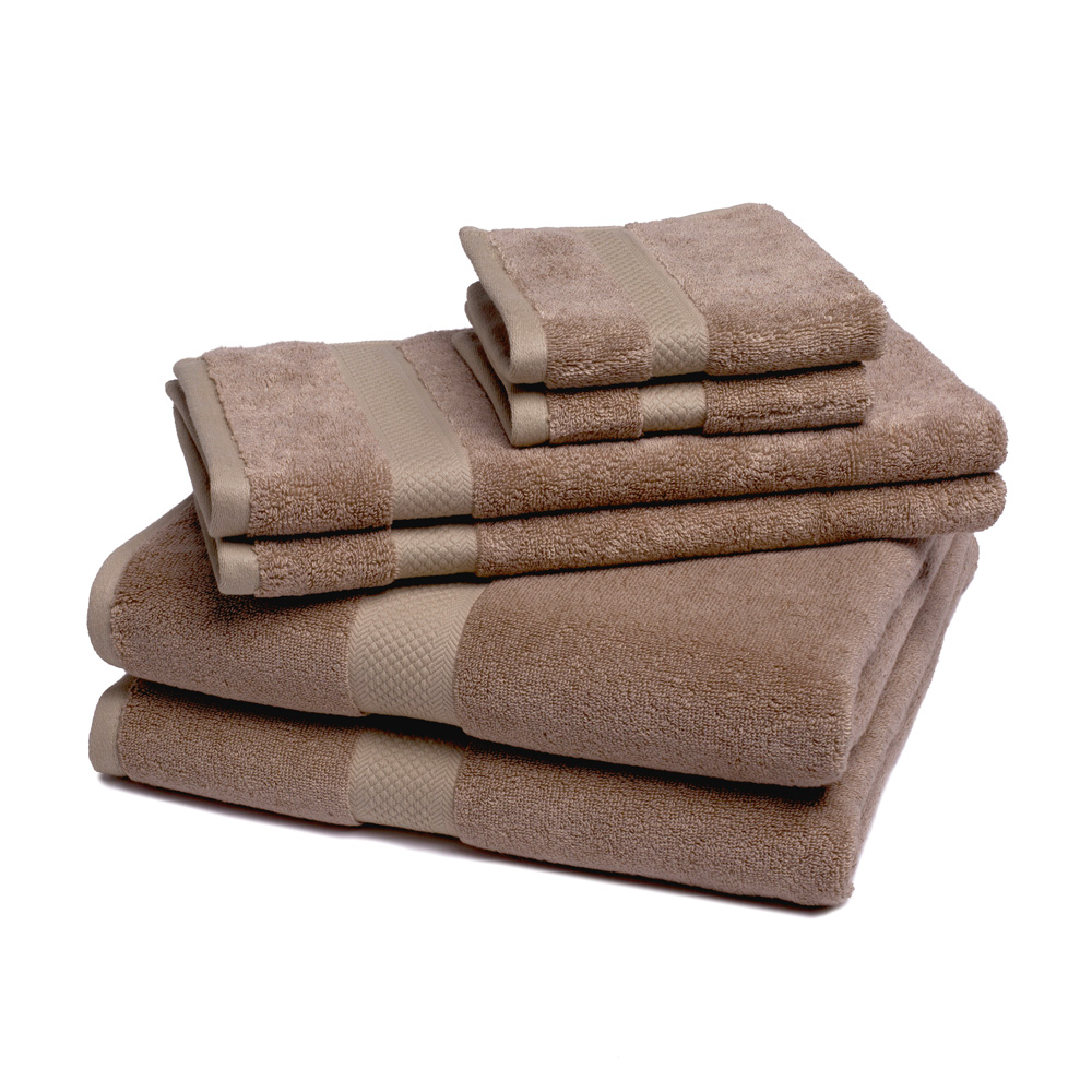 Bamboo Towel Set Super Soft and Absorbent - 6 Pieces - by ExceptionalSheets