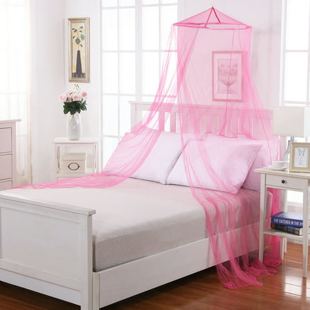 Kids Round Collapsible Wire Hoop Mosquito Net Bed Canopy - Walmart.com