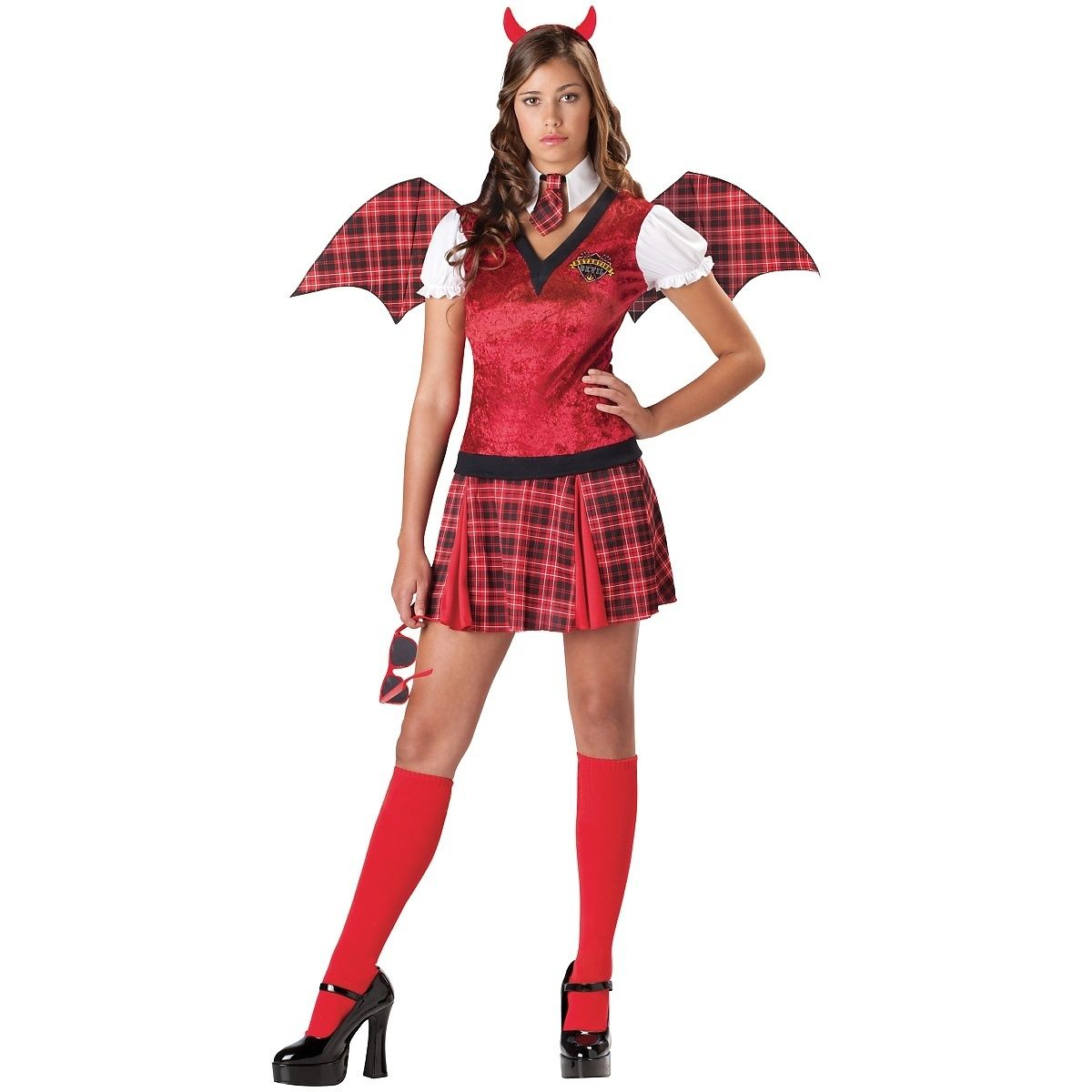 Detention Devil Womens Teen Costume
