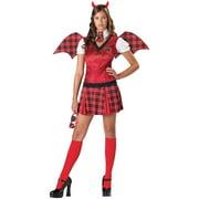 Detention Devil Womens Teen Costume