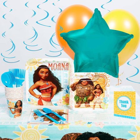 Disney Moana Deluxe Party - Party City Online Order