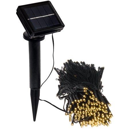 2 Pack 100 LED Solar Led String Lights Christmas Ambiance Lighting For Outdo