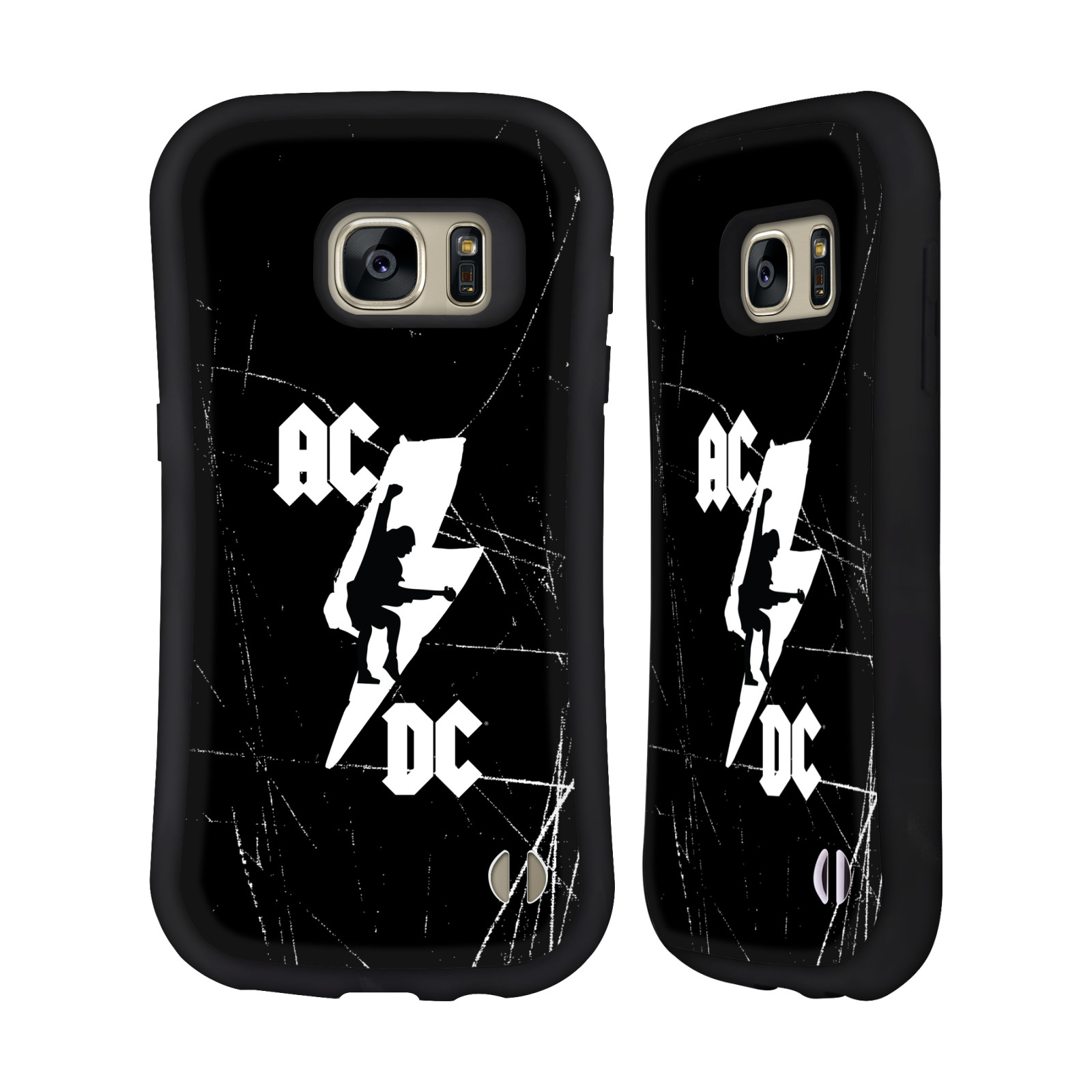 OFFICIAL AC/DC ACDC ICONIC HYBRID CASE FOR SAMSUNG PHONES