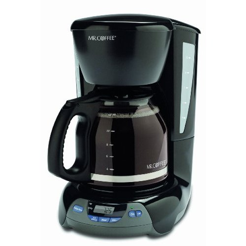 Mr. Coffee VBX23 12-Cup Programmable Coffeemaker Black