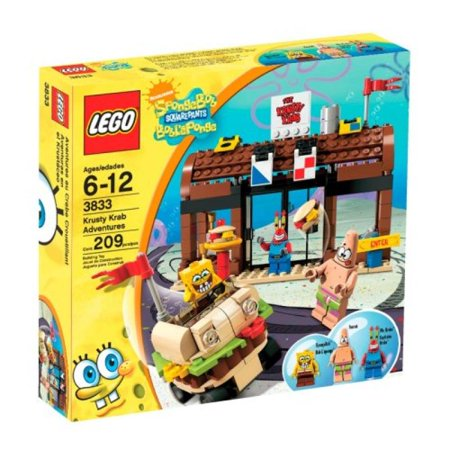 LEGO SpongeBob SquarePants Krusty Krab Adventures ...