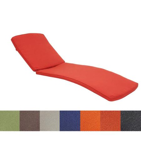 Wicker patio chaise lounger cushion red for 23 w outdoor cushion for chaise