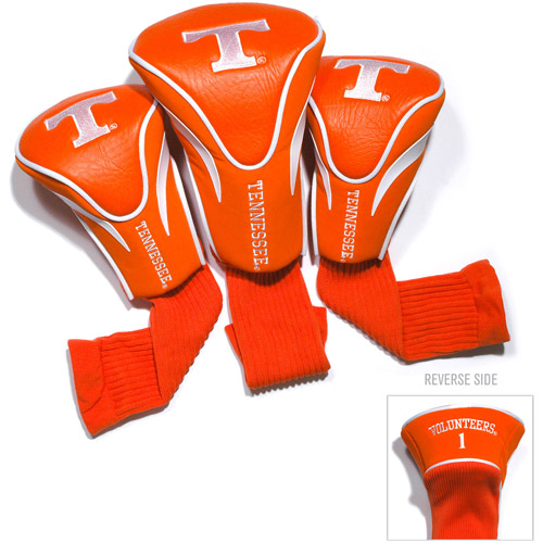 Team Golf NCAA Tennessee 3 Pack Contour Head Covers