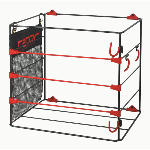 Racor Ball Rack, Bats and Gloves, BR-1B