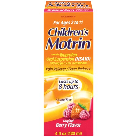 Motrin suspension orale pour enfants, 4 Oz