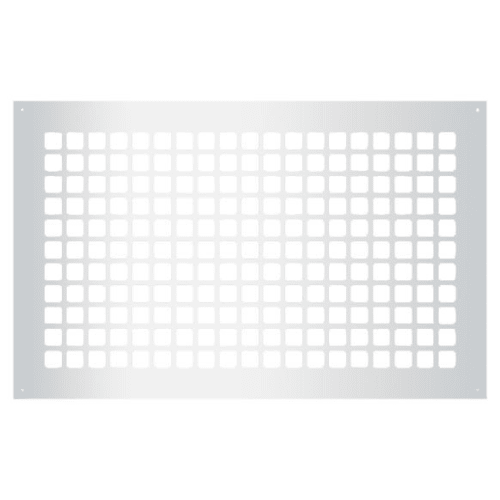 "Reggio Registers G1727-SH Grid Series 24"" x 14"" Grille with Mounting Holes"