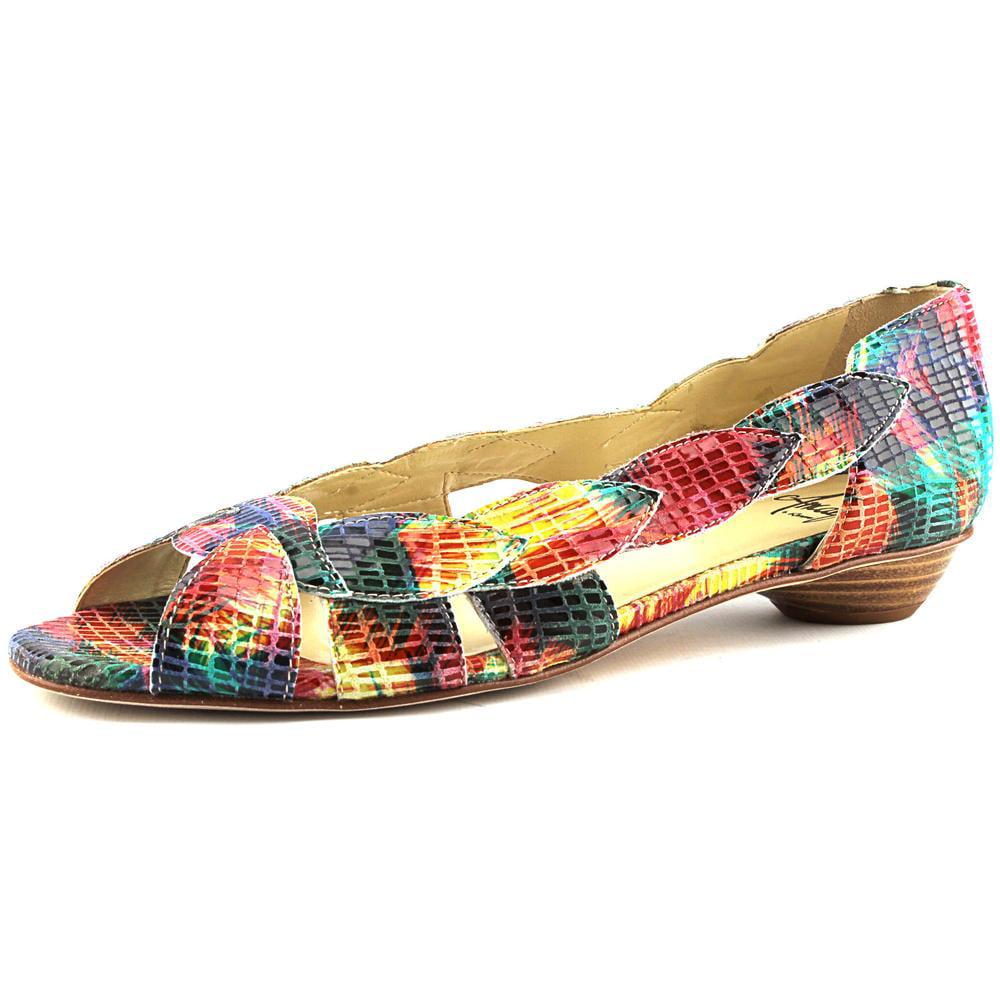 Amalfi By Rangoni Iside Women N S Open Toe Leather Multi Color Sandals by Amalfi By Rangoni