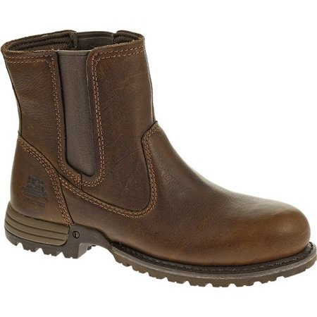 CAT Footwear Freedom Pull On Steel Toe - Oak 8.5(M) Freedom Pull On Steel Toe Womens Work