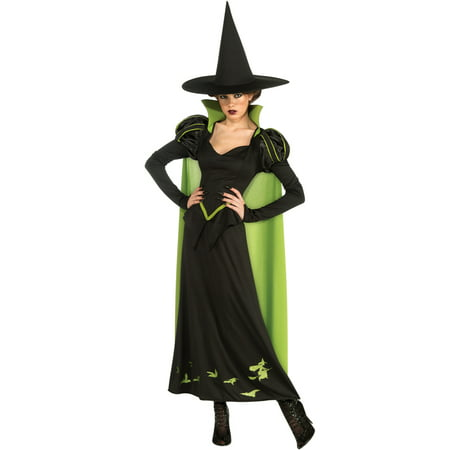 Wizard Of Oz Witch Costume (The Wizard of Oz Wicked Witch Halloween Sensations Adult)