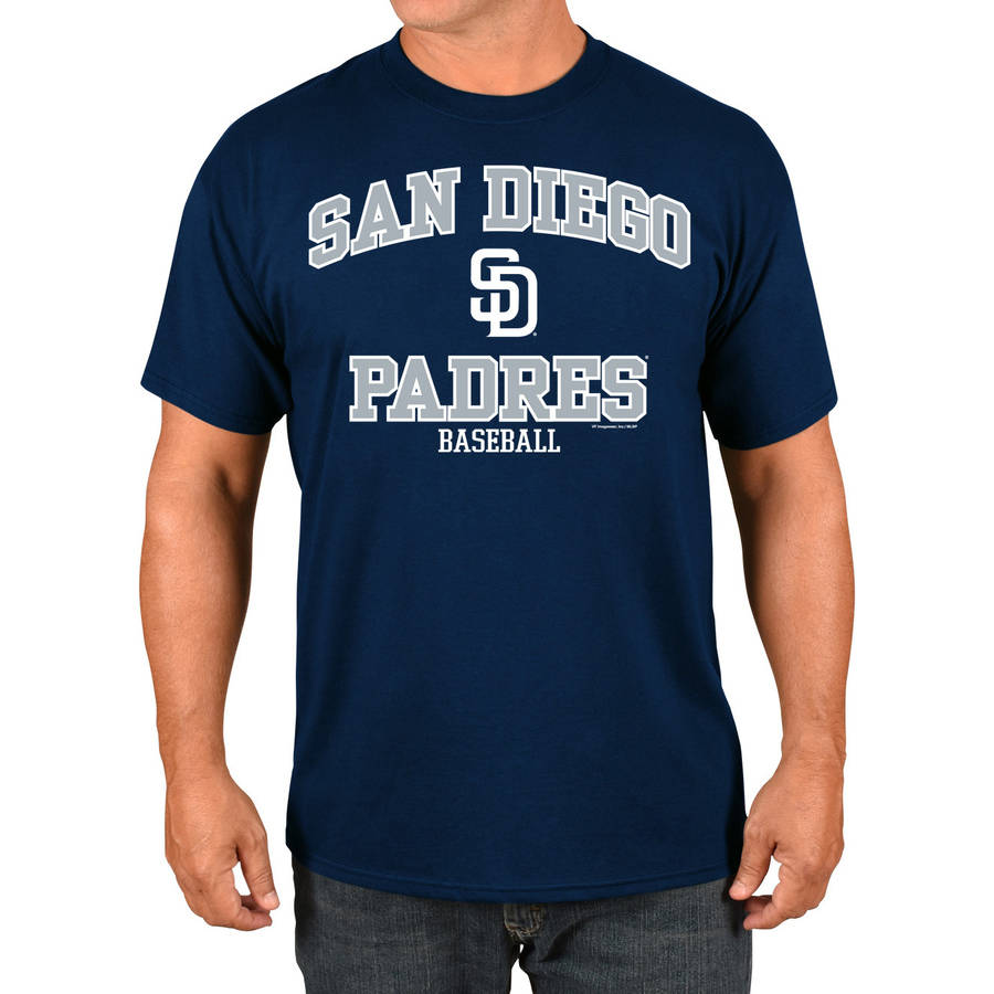 MLB San Diego Padres Big Men's Basic Tee